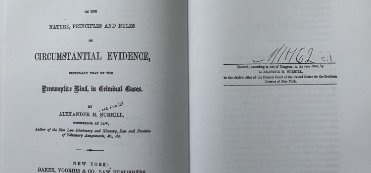 2 Nifty Tools for the Criminal Practitioner – An Old Treatise and an Amazing Online Library